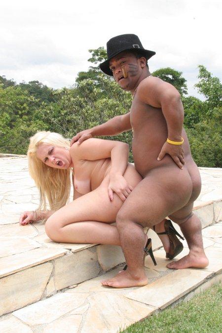 Sexy Blonde Midget Sex13